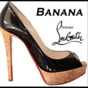 Christian Louboutin banana 140 Heels